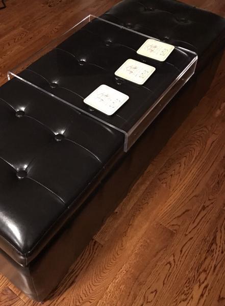 ottoman table top p a plastics fabrication. Black Bedroom Furniture Sets. Home Design Ideas